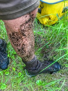 Other part of the portage are wet, mucky, boggy and buggy!
