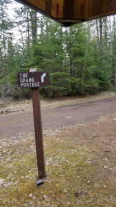 Logging Road Crossing on Grand Portage