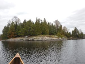 Adams island lake camp