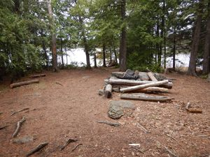 Adams island lake camp 2