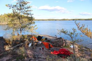 Overlooking Olive Lake From Campsite 29