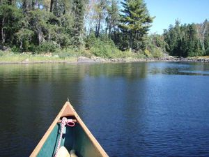 S Kawish north 15r portage - paddle through - south end