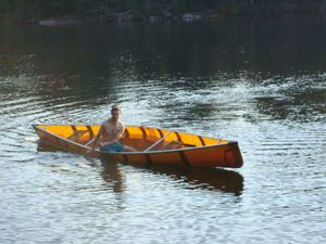 Practicing Canoeing Strokes