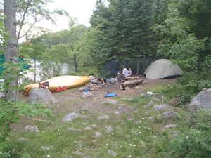 American point campsite