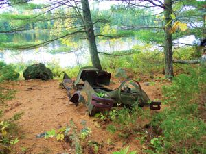 Old Buick on Crooked Lake