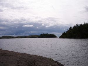 South Arm Knife lake