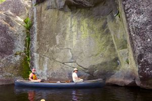 island river pictographs