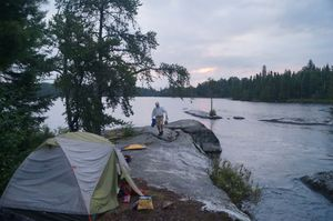 Campsite 1EM on Beg Lake