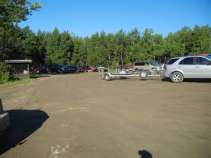 Caddy Lake Parking Lot