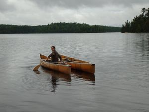 Retrieving the Canoe