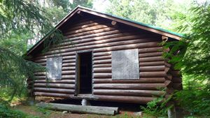 king's point ranger station - other cabin.