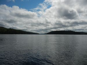 Looking Down Quetico