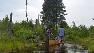 Entering the BWCA