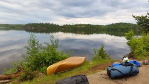 Campsite on Gillis Lake