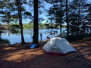 Jessie Lake Campsite (bay)