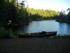 Slim Lake Portage