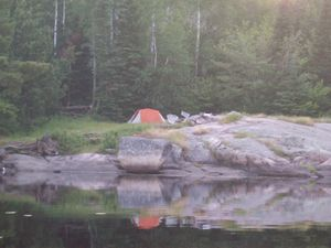 Nina-Moose Lake camp