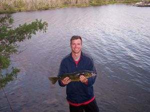 Alpine Lake Walleye