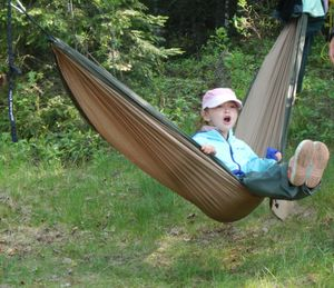 Hammock swinging