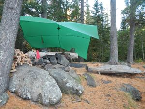 Clearwater Lake campsite