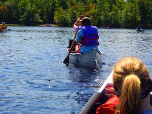 """tow"" down Fall lake"