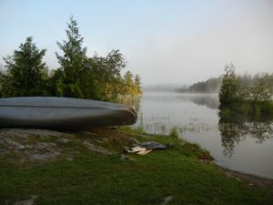 Birch Lake Morning