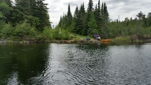 Mountain Lake to Watap Lake portage
