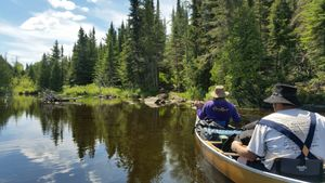 Portage from Vaseux Lake To Moose Lake