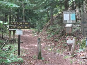 East/West Bear Lakes trailhead