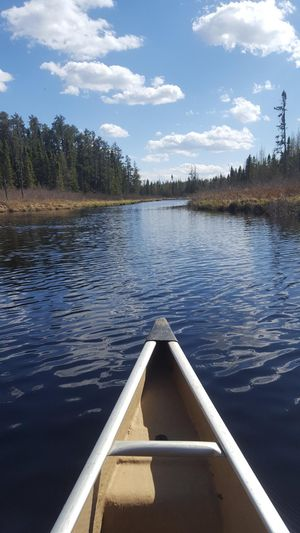 Beautiful paddle on the South Moose River