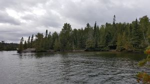 Ashdick portage next to Ester site 330