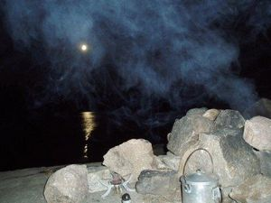 Smoke and moonlight