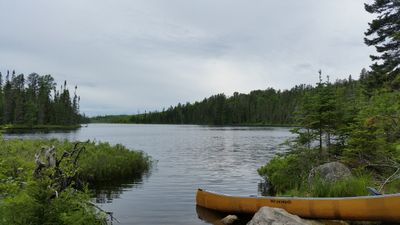 Muskeg Lake from Kiskadinna