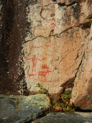 Hegman pictographs