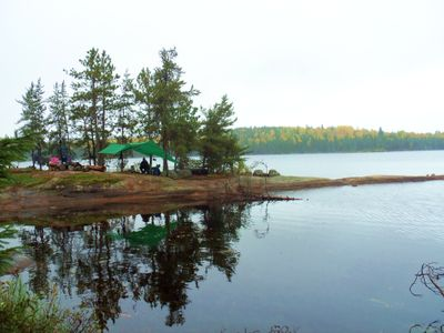 Gull Lake camp #1889