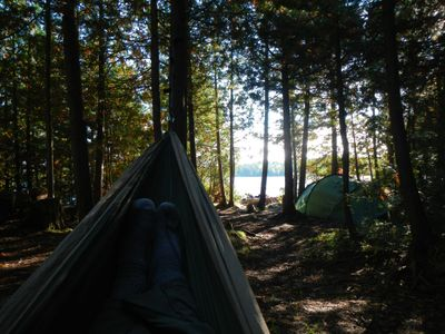 Hammock, Crooked Lake site #1867