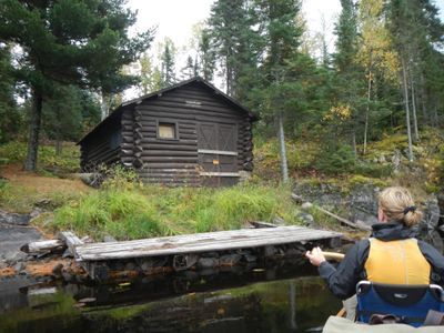 Basswood River cabin