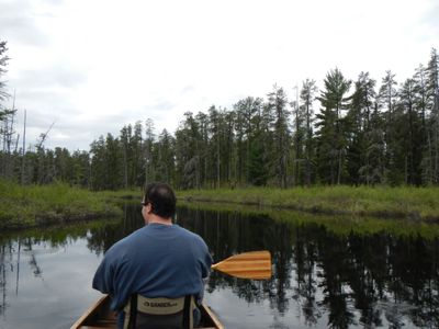 Paddling the Portage River