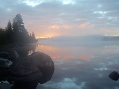 Oyster Lake morning
