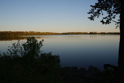 Camp near Bear Island, Threemile Lake