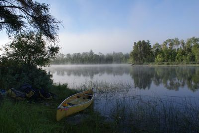 Morning on Threemile Lake
