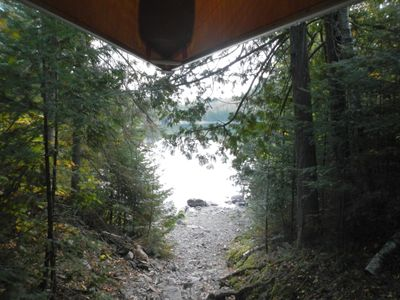 Portage to Carp Lake