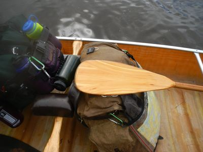 Another paddle I built - 3rd trip with it.