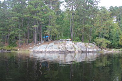 Finger lake campsite